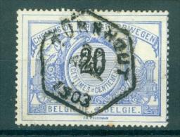 """BELGIE - OBP Nr TR 17 - Cachet  Hexagonal  """"TURNHOUT"""" - (ref. VL-9868) - Chemins De Fer"""