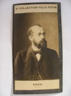 Professeur  Robert KOCH Né à Klausthal - Ancienne Photo Bromure - Collection Felix POTIN - Famous People
