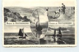OOSTDUINKERKE - Carte Multivues (Belgique) - Oostduinkerke