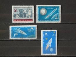 BULGARIE - 1961 PA 79/82 O - Luftpost