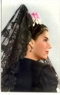 3 POSTCARDS - RP - SHOWING SPANISH HEAD DRESS - Europe