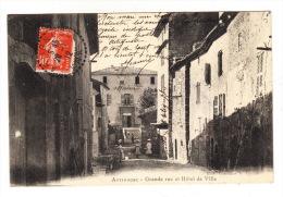 CPA (83) ARTIGNOSC  - Grande Rue Et Hotel De Ville - France