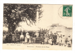 CPA (83) ARTIGNOSC  - Fontaine De La Place - Other Municipalities