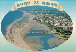 BIBIONE (VE)     SALUTI  DA BIBIONE      (VIAGGIATA) - Italia