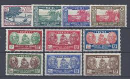 Nelle-CALEDONIE - 1939-40 -  N° 180 à 189  - NEUFS - X - TB - - Nouvelle-Calédonie