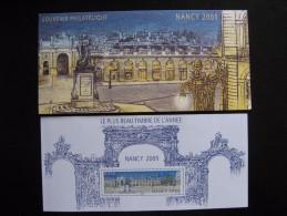 TB B.F. Souvenir N°14 : NANCY 2005, Avec Encart, Neuf XX. - Bloques Souvenir