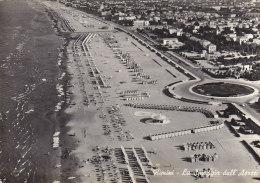 Italie - Rimini - La Spiaggia Dall' Aereo - Rimini