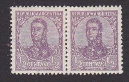 Argentina, Scott #144, Mint Hinged, San Martin, Issued 1908 - Nuovi