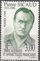 TAAF 1999 Yvert 238 Neuf ** Cote (2015) 1.60 Euro Pierre Sicaud - Neufs