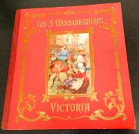 """Chocolats VICTORIA : Album 1ère Partie """"Les 3 Mousquetaires"""" D´Alexandre Dumas - 92 Chromos / 100 - Sammelbilderalben & Katalogue"""