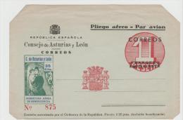 EE002a/ SPANIEN -  Republikanische Ausgabe Mit Zuschlag. Ungebraucht  ** - Ganzsachen