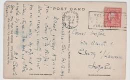 USA232 / Stempelwerbung Für Feuerschutz 1919 - Briefe U. Dokumente