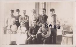 CARTE PHOTO,75,PARIS, HOPITAL MILITAIRE VILLEMIN,1929,ANCIEN COUVENT DES RECOLLETS,MILITAIRE,MEDECIN,BLESSE,CHIRURGIEN - District 10