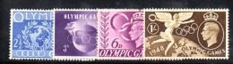 Y378 - GRAN BRETAGNA 1948 , Giorgio VI N. 241/244  ***  MNH Olimpiadi Londra - 1902-1951 (Re)