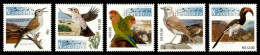 (087) Namibia (SWA) / Namibie  Birds / Oiseaux / Vögel / Vogels / 2013   ** / Mnh Michel 1430-34 - Namibia (1990- ...)