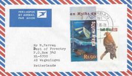South Africa 2005 Durban Treasure Tawny Eagle Bird Of Prey Cover - Zuid-Afrika (1961-...)