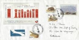 South Africa 1998 Robertson Post Day Miniature Sheet Hedgehog Rabbit Cover - Zuid-Afrika (1961-...)