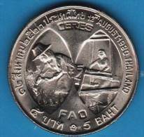 THAILAND 5 BAHT 2523 (1980) FAO Queen Sirikit Y# 137 - Thailand