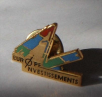 Europe Investissements - Pin's