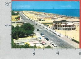CARTOLINA VG ITALIA - RIMINI - Lungomare E Spiaggia - 10 X 15 - ANN. 1963 - Rimini