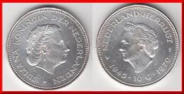 **** PAYS-BAS - NETHERLANDS - 10 GULDEN 1970 JULIANA - 25 Th ANNIVERSARY OF LIBERATION - SILVER **** EN ACHAT IMMEDIAT - [ 3] 1815-… : Reino De Países Bajos