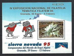 ESPAGNE 1995 Yvert Bloc N° 62 Neuf ** Sans Charnière Never Hinged - Blocs & Hojas