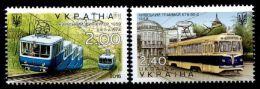 UKRAINE - 2015 -  Tramway De Kiev - 2 Val Neufs // Mnh - Ukraine