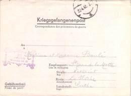 Stalag IX B   WWII WW2 POW Prisoner Of War Censor Censorship Censuur Geprüft KRIEGSGEFANGENENPOST FREE SHIPPING - Allemagne