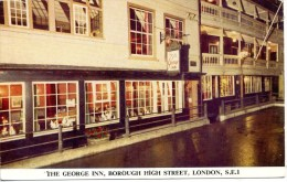 LONDON - BOROUGH HIGH STREET - THE GEORGE INN - London