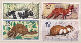 Germany / DDR Used Set - Rodents
