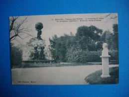 Cpa  BEZIERS  -  34  -  Plateau Des Poetes  -  La Fontaine Du Titan  -  Hérault - Beziers