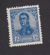 Argentina, Scott #153, Mint Hinged, San Martin, Issued 1908 - Nuovi