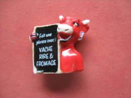 Fève La Vache Quirit Fait Une Phrase Avec : Série Les Gages De La Vache Qui Rit 2014 - Fèves - Rare - Animals