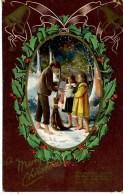 MERRY CHRISTMAS - BOY AND TWO GIRLS - Christmas