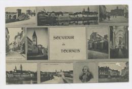 CPA: 71 - TOURNUS -SOUVENIR DE TOURNUS - France