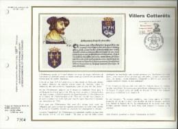 N° 969 S DU CATALOGUE  CEF N° 790 / SOIE .ORDONNANCE DE VILLERS COTTERÊTS  . 28 OCTOBRE 1989 . VILLERS COTTERETS . - 1980-1989