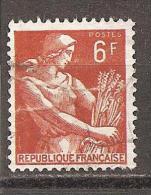 Frankreich 1957 O - 1957-59 Mäherin
