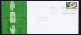1963  Postal Service Bicentenary  Sc 413  Schering Cachet - 1961-1970