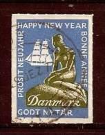 LSJP Denmark  Cinderella Happy New Year Statue - Erinnofilie