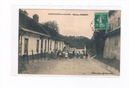 62 MAGNICOURT Sur CANCHE Maison DEBRET Trés Trés Animée - Francia