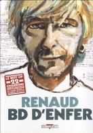 RENAUD BD D'ENFER Best Of  22 Chansons En Bande Dessinée-Chanteur-Chanson-Edition Originale Décembre 2002-Delcourt Edit - Livres, BD, Revues