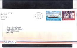 Lettre De Bermuda Vers Belgique En 2011(à Voir) - Bermudes