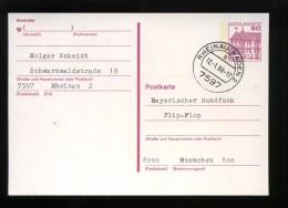 P 135 Mit Tagesstempel 7597 RHEINAU, BADEN 2 B 12.-1.88 - 17 - [7] Federal Republic