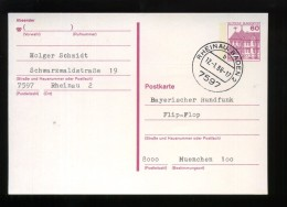 P 135 Mit Tagesstempel 7597 RHEINAU, BADEN 2 B 12.-1.88 - 17 - [7] West-Duitsland