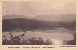 Belley - Coucher De Soleil Sur Le Lac D' Armaille - Belley