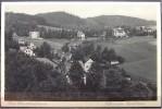 """Alte Karte """"BAD CHARLOTTENBRUNN - Villen Am Karlshain""""  1933 - Schlesien"""