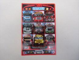 Guatemala  Façade De Camions (camionetas De Guatemala ) - Guatemala