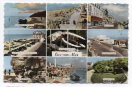 LISIEUX -- Multivues (9 Vues)-- Cpsm 14 X 9  N° 1  éd  Artaud - Luc Sur Mer