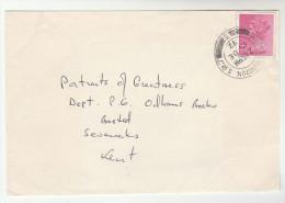 1972 SOUTH KENSINGTON Cds GB Stamps COVER - 1952-.... (Elizabeth II)
