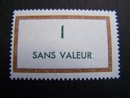 FICTIFS NEUF ** N°F165 SANS CHARNIERE (FICTIF F 165) - Fictifs